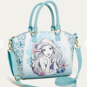 NWT Loungefly Little Mermaid Ariel Satchel
